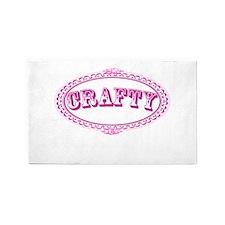 Crafty Girl 3'x5' Area Rug