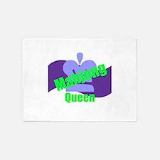 Mahjong Queen 5'x7'Area Rug
