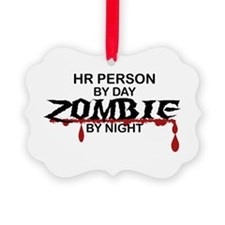 HR Person Zombie Ornament