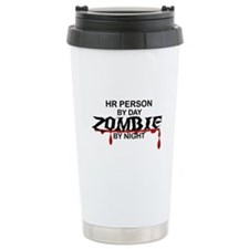 HR Person Zombie Travel Mug