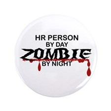 "HR Person Zombie 3.5"" Button"