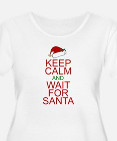 Keep calm Santa T-Shirt
