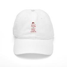 Keep calm Santa Baseball Cap