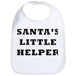 Santas little helper Bib