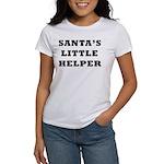 Santas little helper Women's T-Shirt