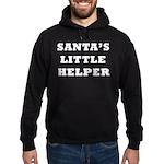 Santas little helper Hoodie (dark)