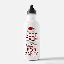 Keep calm Santa Water Bottle