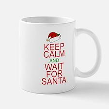 Keep calm Santa Small Mugs