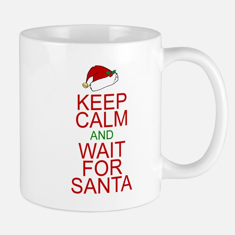 Keep calm Santa Small Mugs