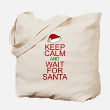 Keep calm Santa Tote Bag