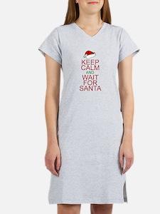 Keep calm Santa Women's Nightshirt