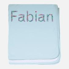 Fabian Paper Clips baby blanket