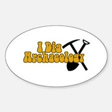 Archaeology Decal