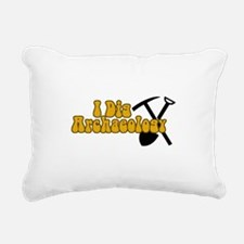 Archaeology Rectangular Canvas Pillow