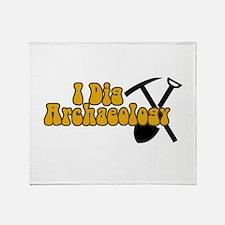 Archaeology Throw Blanket