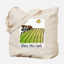 Bless this land Tote Bag