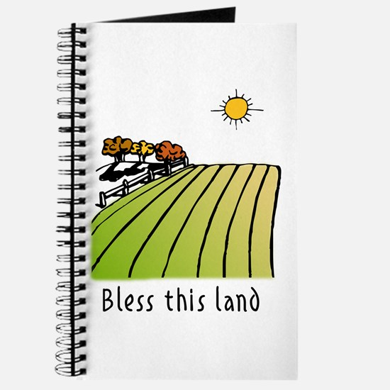 Bless this land Journal