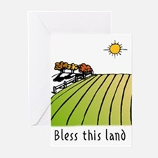 Bless this land Greeting Cards (Pk of 10)