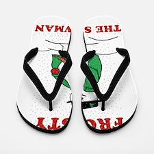 Christmas Showman Flip Flops