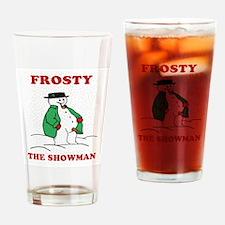 Christmas Showman Drinking Glass