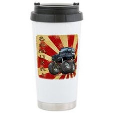 Black Suzuki Samurai Travel Mug