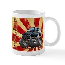 Black Suzuki Samurai Mug