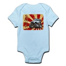 White Suzuki Samurai Infant Bodysuit