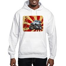 White Suzuki Samurai Hoodie