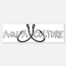 AQUA CULTURE HOOKS (Bumper Sticker)
