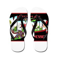 Memphis Tennessee Greetings Flip Flops