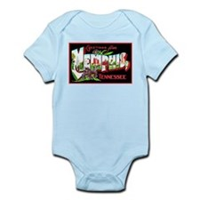 Memphis Tennessee Greetings Infant Bodysuit