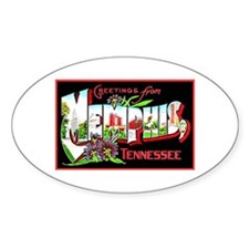 Memphis Tennessee Greetings Decal