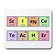 Science Teacher Mousepad
