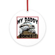 ToyotaDaddyRocks.png Ornament (Round)