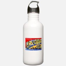 Jacksonville Florida Greetings Sports Water Bottle
