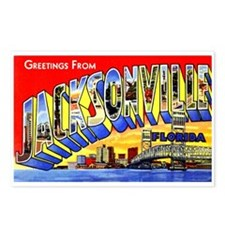 Jacksonville Florida Greetings Postcards (Package