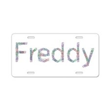 Freddy Paper Clips Aluminum License Plate