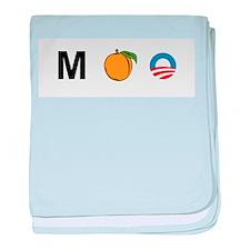 M-Peach-Obama baby blanket