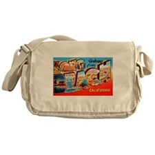 Long Beach California Greetings Messenger Bag