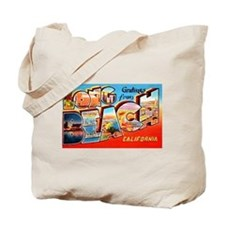 Long Beach California Greetings Tote Bag
