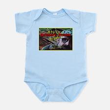 Allosaurus Snack Infant Bodysuit