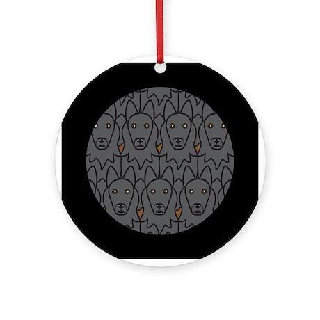 Belgian Sheepdogs Ornament (Round)