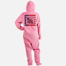ABH Fort McHenry Footed Pajamas