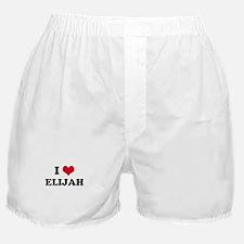 I HEART ELIJAH Boxer Shorts