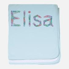Elisa Paper Clips baby blanket