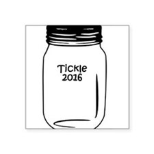 "Tickle 2016 Jar Square Sticker 3"" x 3"""
