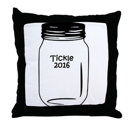 Tickle 2016 Jar Throw Pillow