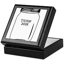 Tickle 2016 Jar Keepsake Box