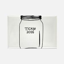 Tickle 2016 Jar Rectangle Magnet