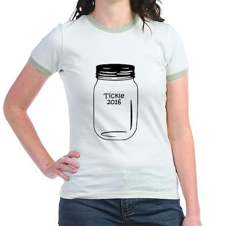 Tickle 2016 Jar Jr. Ringer T-Shirt